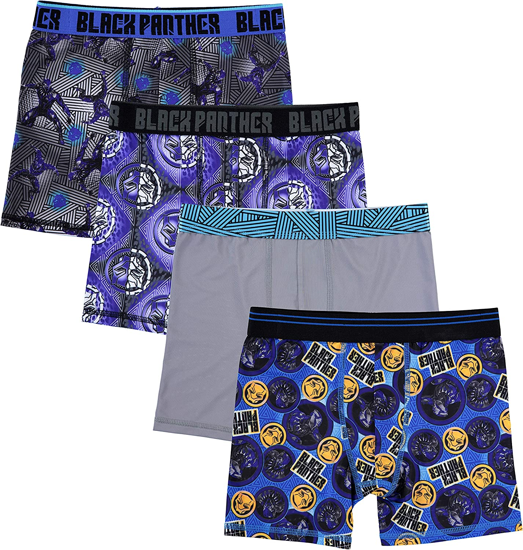 Boys 4-6 Boxer Briefs//Underwear Athletic 3Pack Mesh Fabric Underoos Avengers