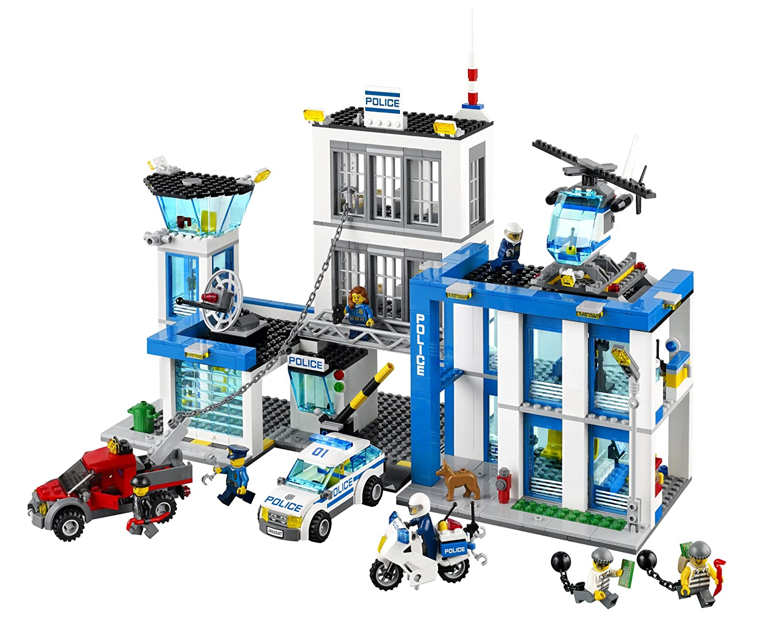 The LEGO City Police Station Set for Boys - LEGO City Police 60047 Police Station