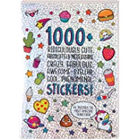 Fashion Angels 1000+ Ridiculously Cute Stickers for Kids - Fun Craft Stickers for Scrapbooks, Planners, Gifts and…