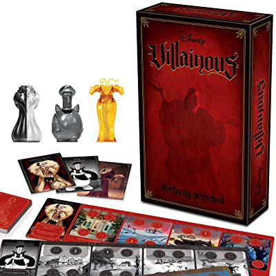 Ravensburger Disney Villainous: Perfectly Wretched Strategy Board Game for Age 10 & Up - Stand-Alone & Expansion to The 2020 Toty Game of The Year Award Winner: Toys & Games