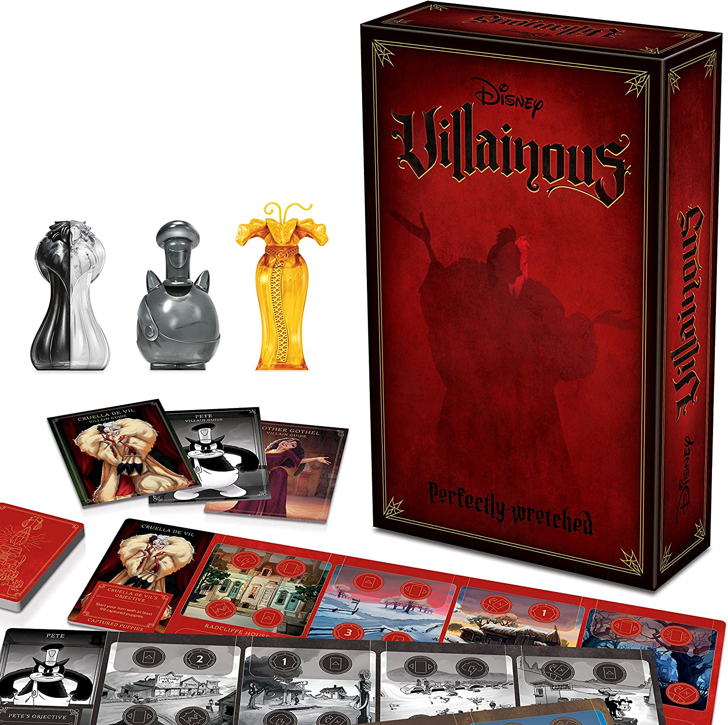 Ravensburger Disney Villainous: Perfectly Wretched Strategy Board Game for Age 10 & Up - Stand-Alone & Expansion to The 2019 Toty Game of The Year Award Winner
