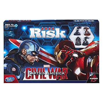 Hasbro Risk Captain America Civil War, Multi Color