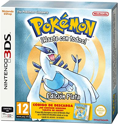Pokémon: Silver Edition: Amazon.es: Videojuegos