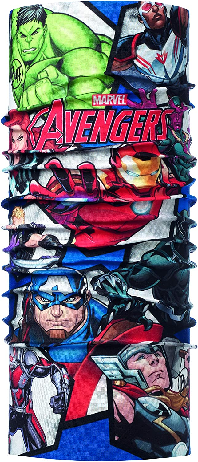 Buff Avengers Time Tubular Original Junior, Unisex niños, Multi ...