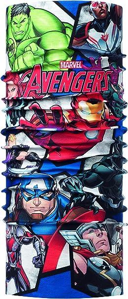 Buff Avengers Time Tubular Original Junior, Unisex niños, Multi ...