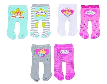 Amazon.com: BABY Born tights 2 pcs. Zapf Kreation for Dolls ...