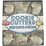 Fox Run 3645 Mini Animal Cookie Cutter Set, Stainless Steel, 9-Piece