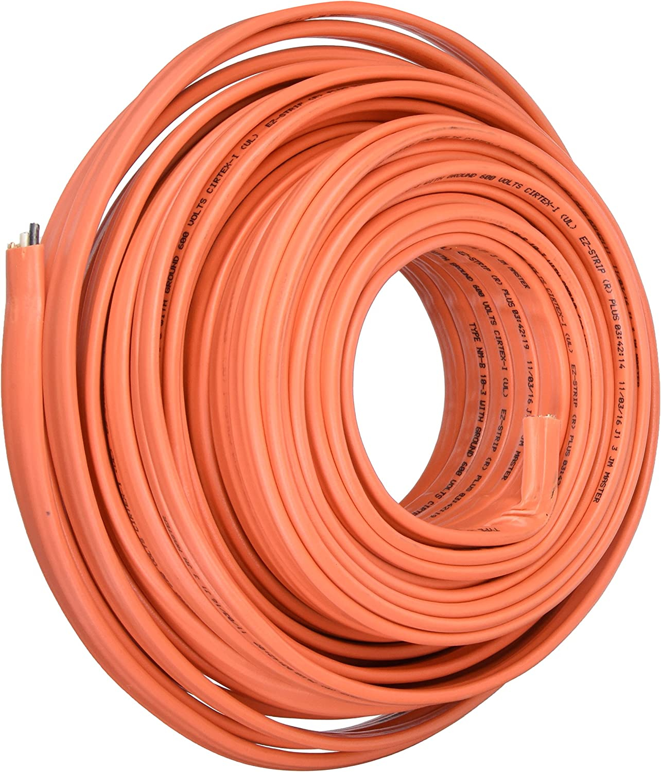NEW 75/' 6//2 W//GROUND NM-B ROMEX HOUSE WIRE//CABLE
