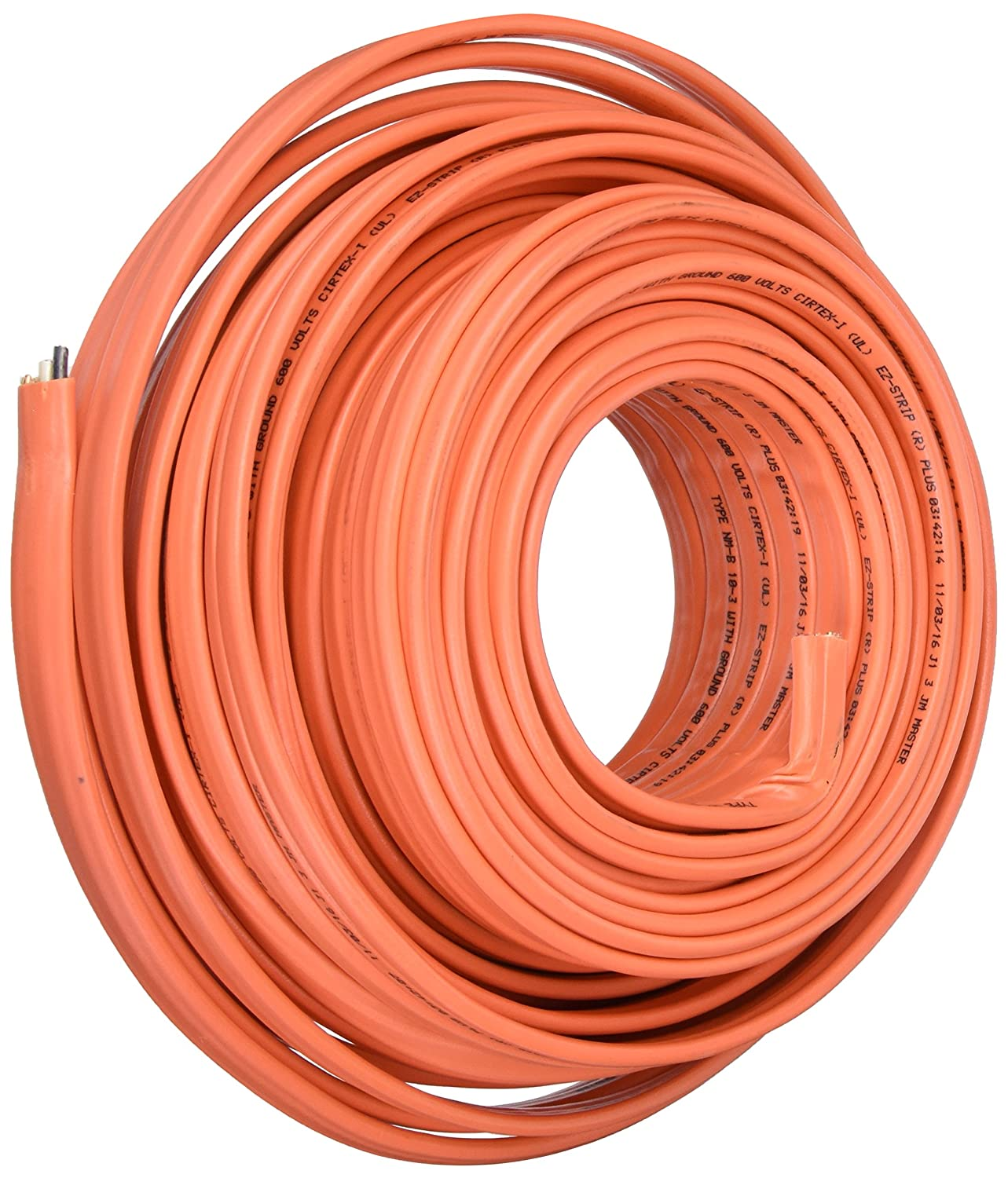 Cerrowire 147-1803CR 100-Feet 10/3 NM-B Solid with Ground Wire ...