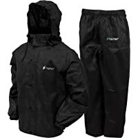 Clothing, Shoes & Accessories Men's Clothing Bright Frogg Toggs Black Pro Action Rain Jacket Size L Latest Technology