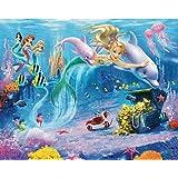Walltastic Mermaids Design Photo Wall Paper