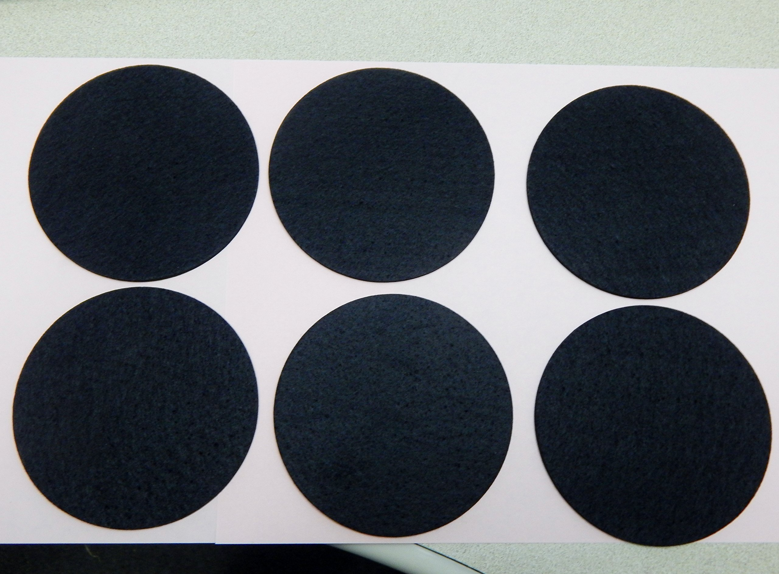 6 Air Hockey Mallet Felt Pads