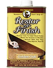 Howard RF3016 Restor-A-Finish, 16-Ounce, Golden Oak