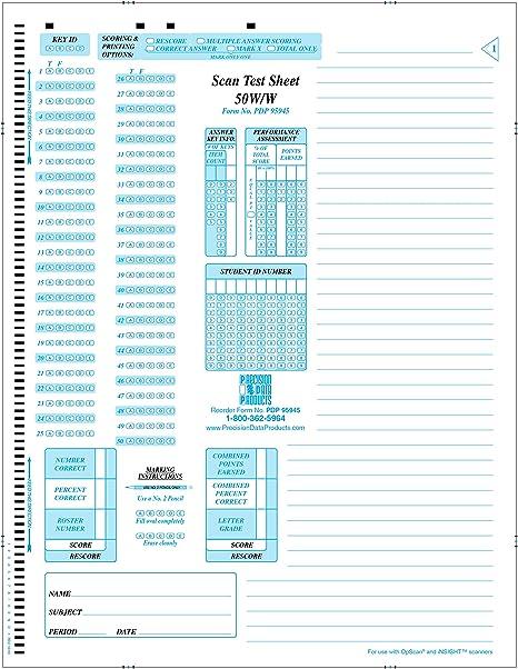 PDP 95945 NCS Compatible 50//50W SELF Score 100pkg