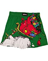 Dr Seuss How the Grinch Stole Christmas Vintage Green Boxer Shorts