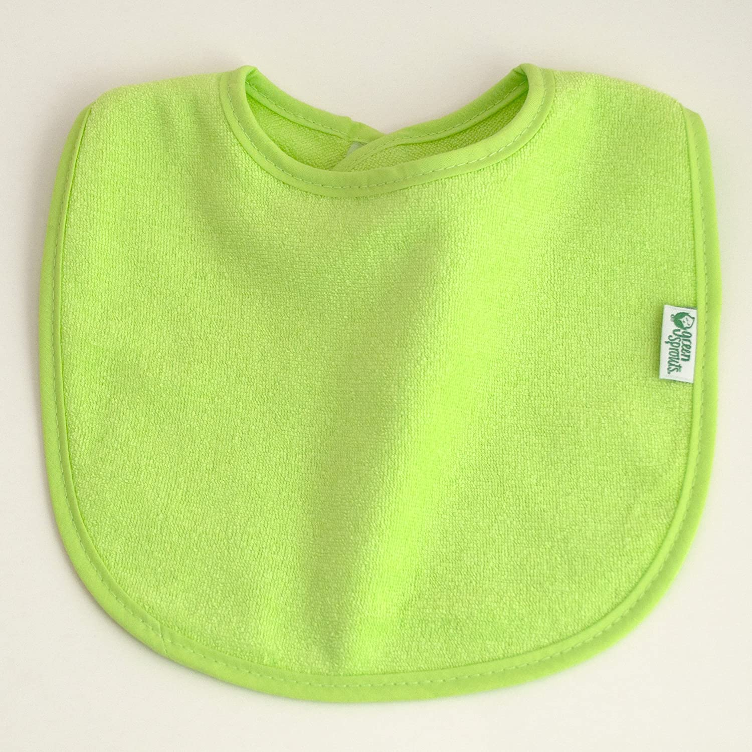 green sprouts Stay-dry Bibs Waterproof inner layer Machine washable 10 pack Knitted terry cotton and polyester   Ultimate protection from drools /& spit ups