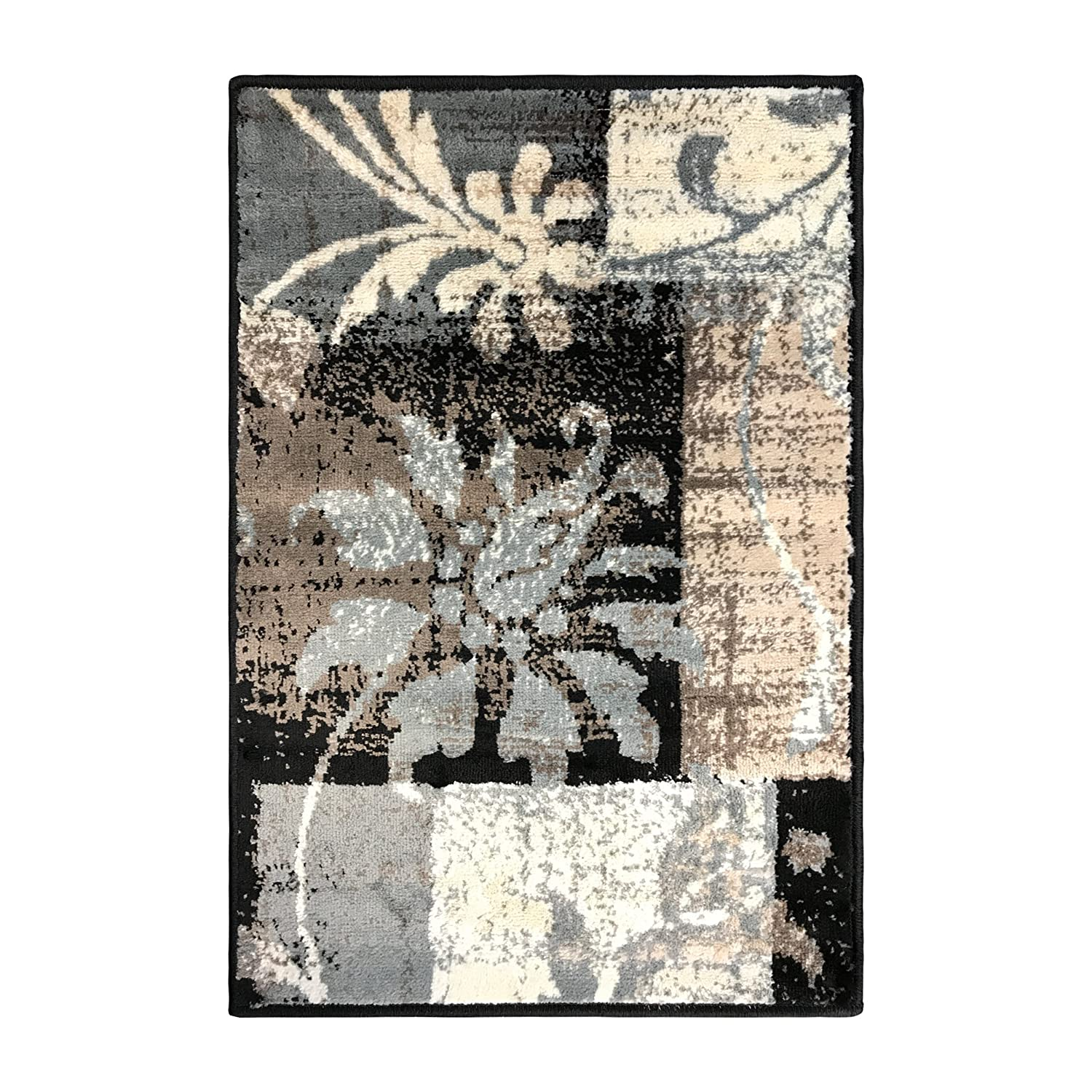 Superior Pastiche Collection, 6mm Pile Height with Jute Backing, Quality and Affordable Area Rugs, 2' x 3' Brown