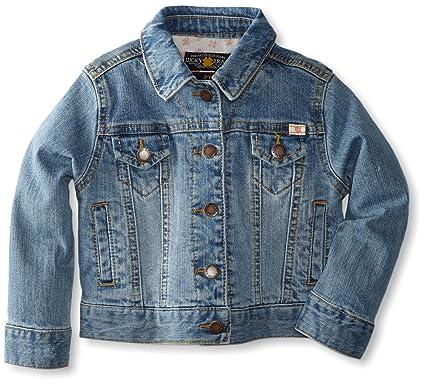 a968df01e Amazon.com: Lucky Brand Little Girls' Sabrina Stretch Denim Jacket: Outerwear  Jackets: Clothing