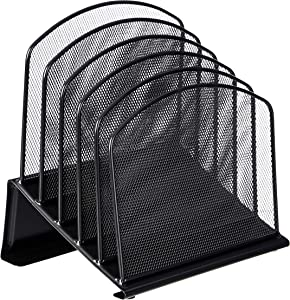 AmazonBasics Mesh Five-Tier Inclined Sorter