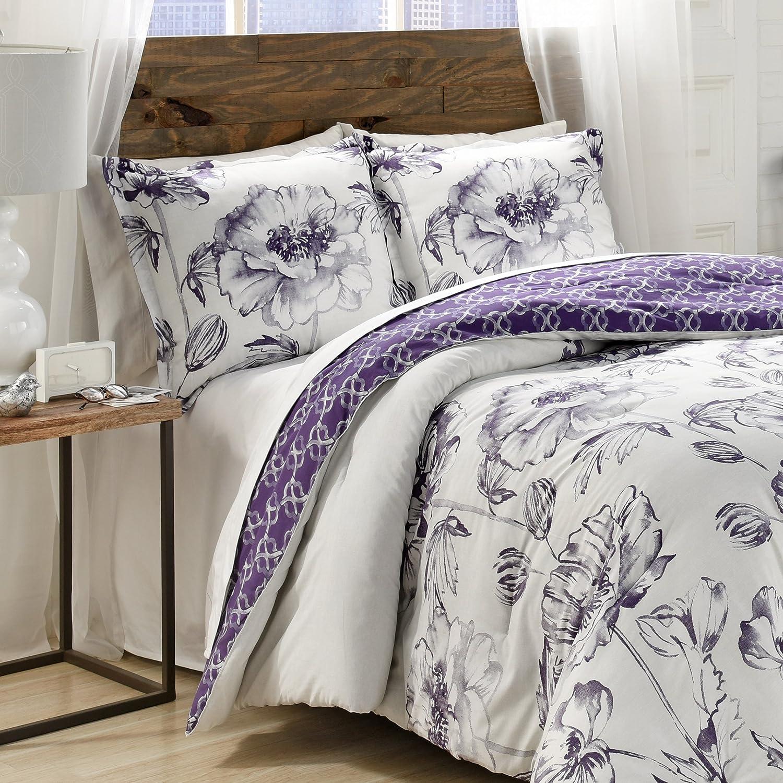 Amazoncom Marble Hill Jasmeen Comforter Set Queen
