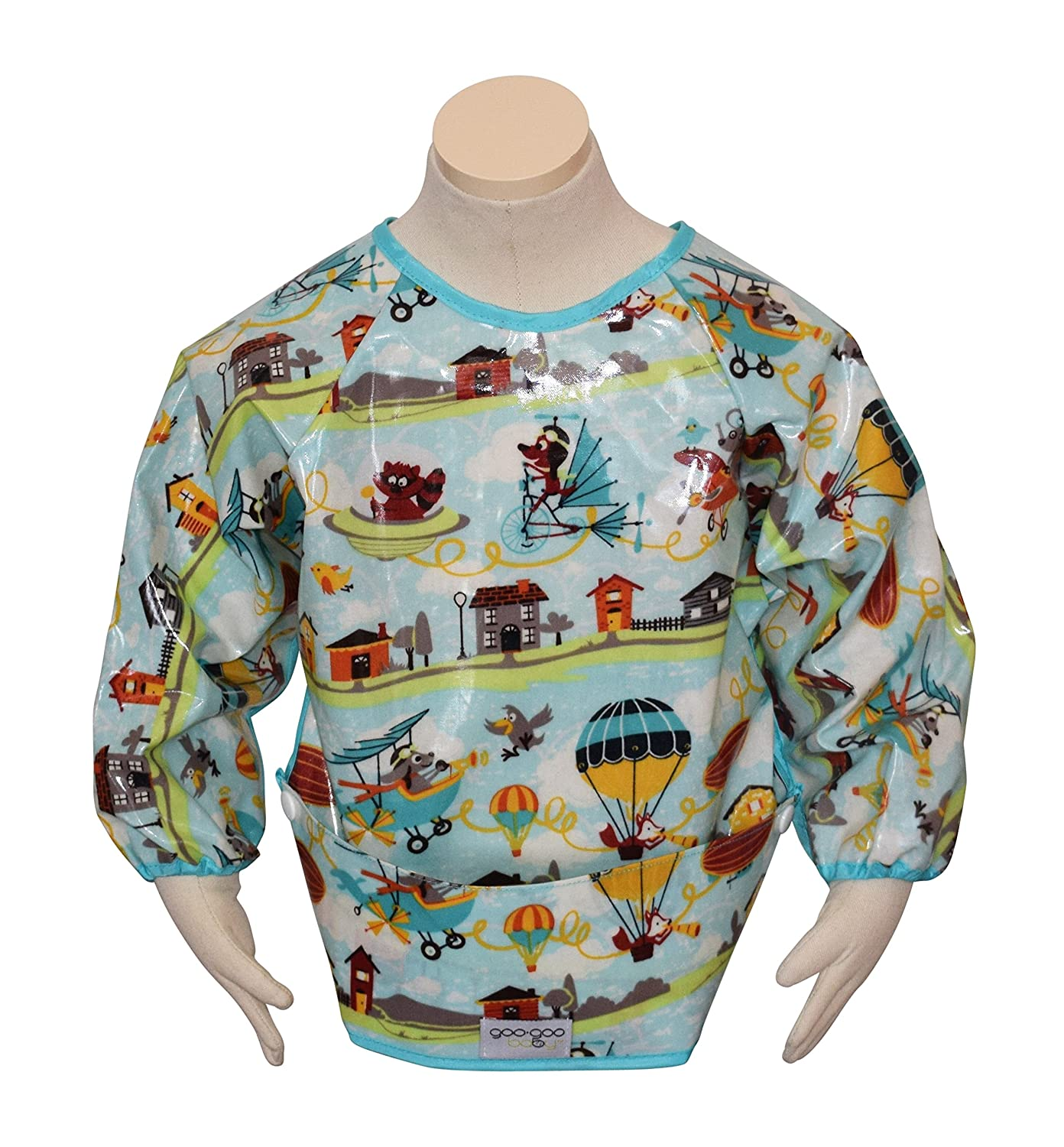 Goo-Goo Baby Perfect Pocket Smock, Multi, Farmyard, Small PPS-FARMYARD-S