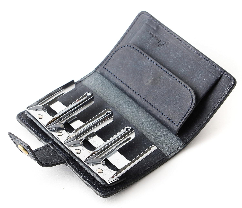 リティスタ Coin Wallet2 コインケース 小銭入れ LITSTA B01N29HMBB ネイビー(ショップ限定カラー) ネイビー(ショップ限定カラー)
