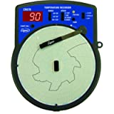 Supco CR87B Fahrenheit Temperature Circular Chart Recorder, 6' Chart Diameter, 110-120V Voltage
