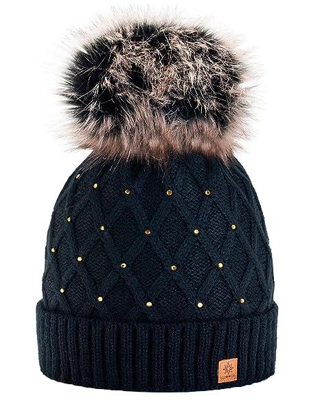 085c3f407036d Morefaz - Gorro de invierno para mujer