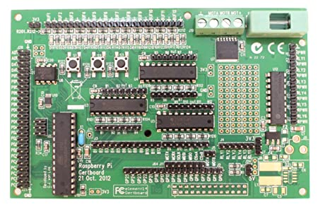 GertBoard I O Extension Board for the Raspberry Pi Motherboards at amazon