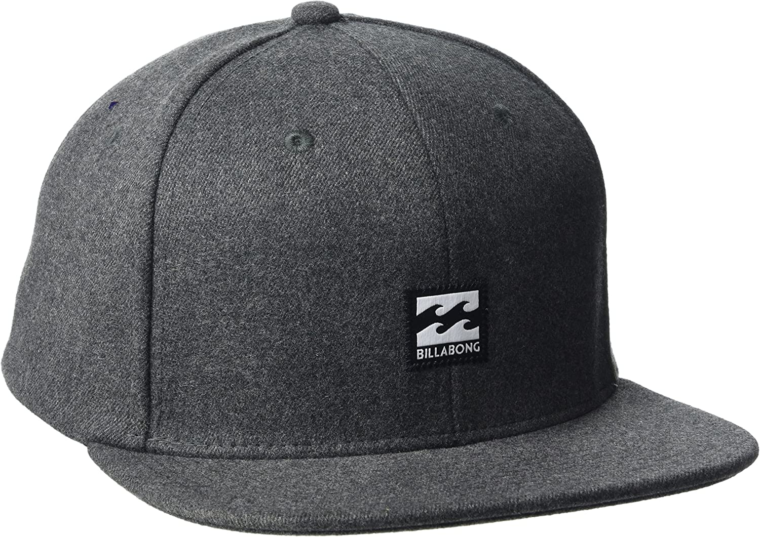 BILLABONG Primary Snapback Gorra, Hombre, Negro (Heather), Talla ...
