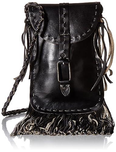 8ca8280b08e Bed|Stu Women's Sandy Lane Leather Bag (Black Rustic): Handbags ...