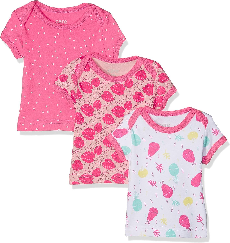 Care Baby-M/ädchen Langarmshirt im 3er Pack