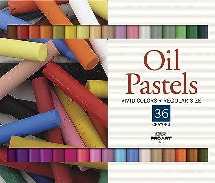 Amazon Pro Art Oil Pastel Set 36 Color