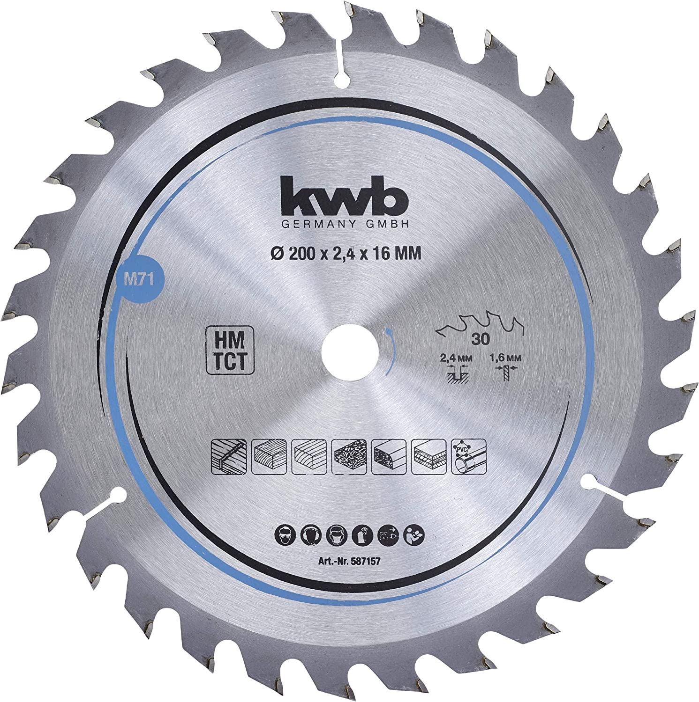 Sägeblatt 210mm Kreissägeblatt für Holz 48 Zähne Innen 32-30-20mm