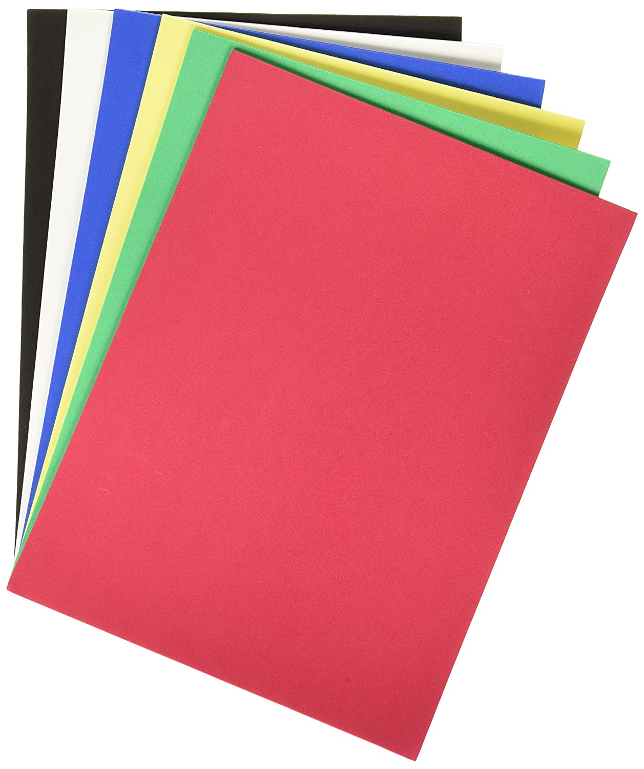 IMISNO DIY Foam Sheets Paper Pack of 24pcs 24 Colors,9.8x9.8,thickness:0.039 //1mm