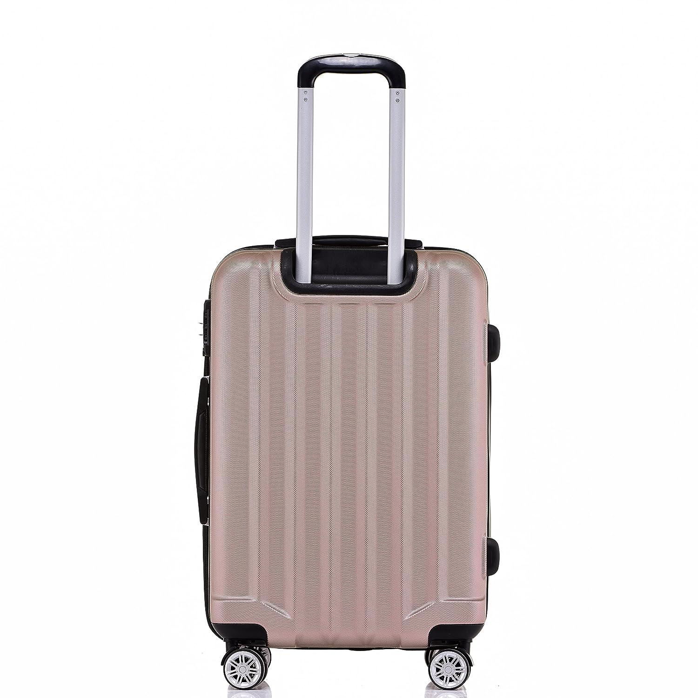 TSA - Candado 2080 Hang epäck ruedas Gemelas nuevo Maleta rígida L XL de m (Board Case) en 12 colores, Rosa, extra-large: Amazon.es: Deportes y aire libre