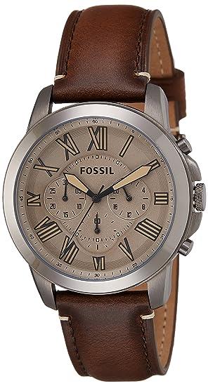 Fossil Grant de hombre cronógrafo fs5214