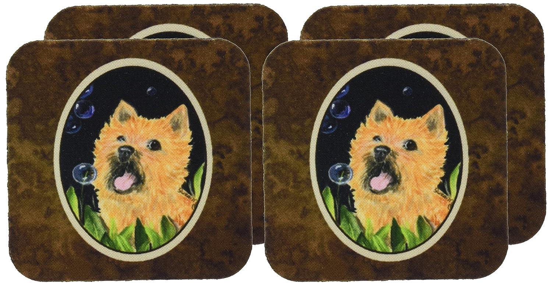 Multicolor 3.5 H x 3.5 W Caroline/'s Treasures Set of 4 Carolines Treasures SS8928FC Cairn Terrier Foam Coasters 3.5 H x 3.5 W