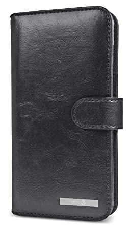 separation shoes 9a4e5 d34cd Doro 8040 Magnetic Wallet Case with Card Holder (Black)