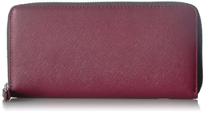 1d1624381b Amazon.com: ECCO Iola Large Zip Wallet, cherry/magnet: Clothing