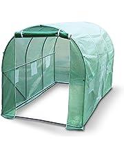 Kenley Serra da Giardinaggio Politunnel – Telaio di Resistente Acciaio Inossidabile 25 mm - 3 x 2 m