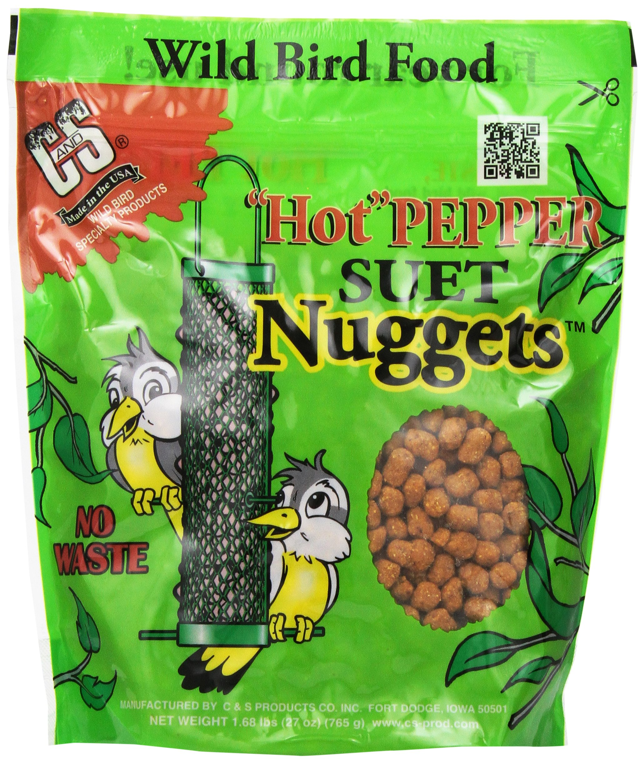 C & S Products Hot Pepper Nuggets, 6-Piece by C & S Products