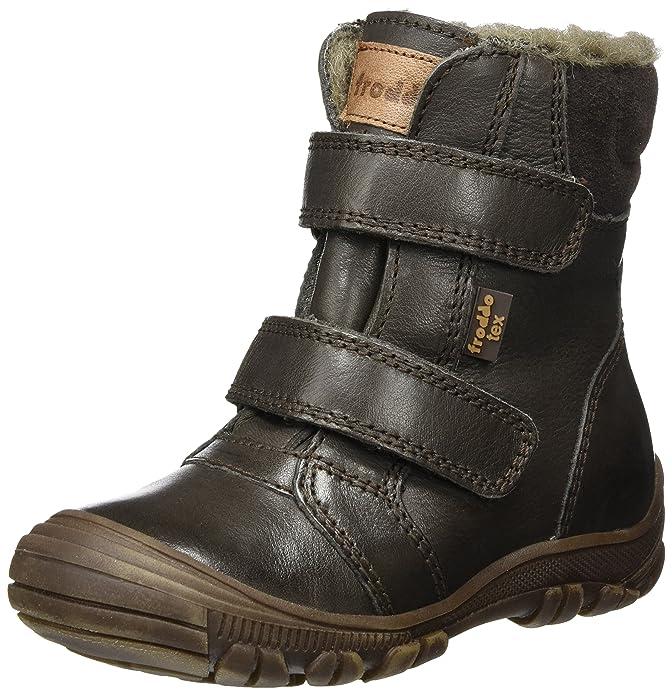 Froddo Jungen Ankle Boot G3110085-2 Schneestiefel, Braun (Dark Brown), 30 EU