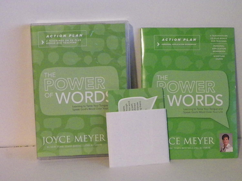 Amazon.com: Joyce Meyer The Power of Words Action Plan: 4 ...