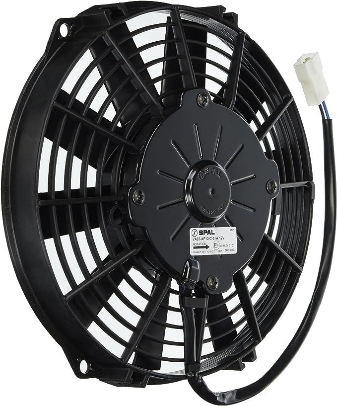 SPAL 30100392 extractor ventilador (9in; Para Uso W/15 AMP fusible ...