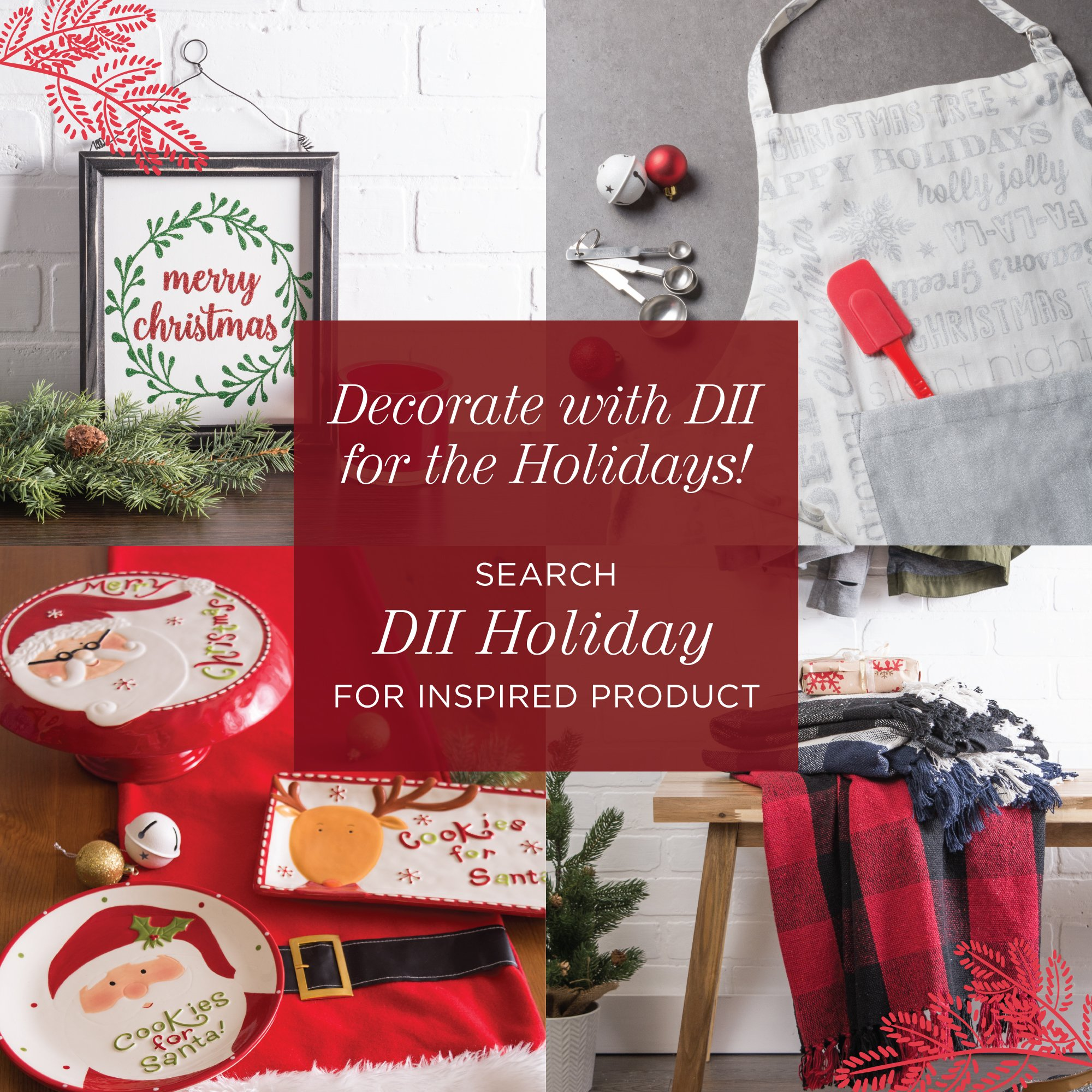 DII Oversized 20x20 Cotton Napkin, Pack of 6, Red & White Check - Perfect for Fall, Thanksgiving, Farmhouse DÃcor, Christmas, Picnics & Potlucks or Everyday Use by DII (Image #9)