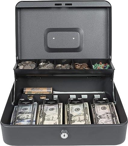 Royal Sobereign Money Manejo Caja de Seguridad Caja de Efectivo (RSCB-400), Bandeja con niveles: Amazon.es: Oficina y papelería