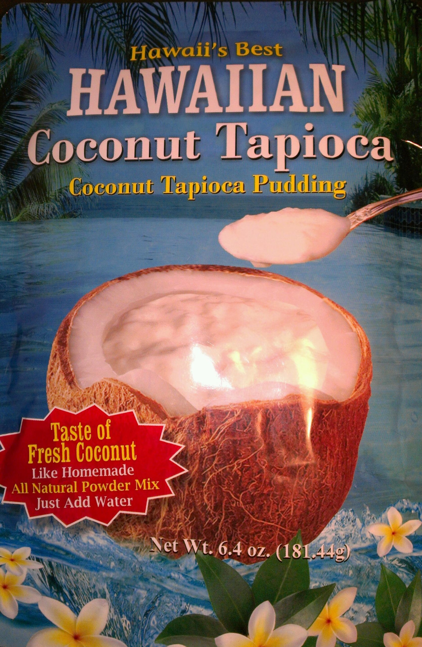 Hawaiian Coconut Tapioca Pudding
