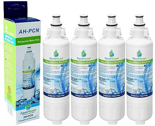4x AquaHouse AH-PCN filtro de agua compatibles para Panasonic ...