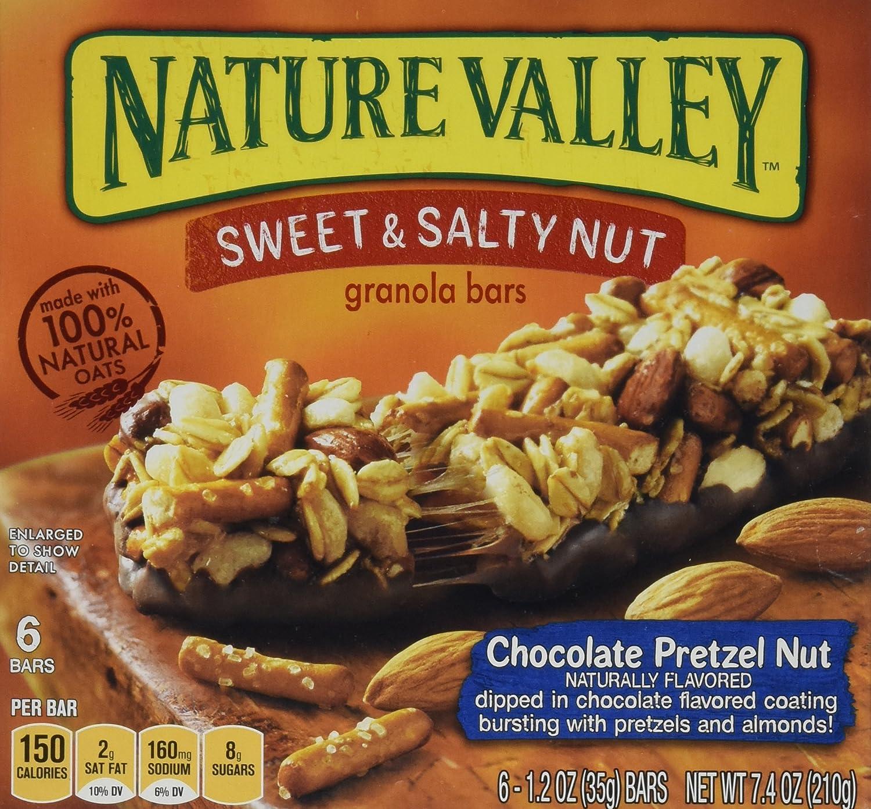 El Paso Mall Nature Valley Luxury Granola Bars Sweet Pretzel Salty Chocolate Nu